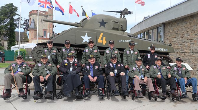 14 WWII Vets gather at Airborne Museum in Normandy